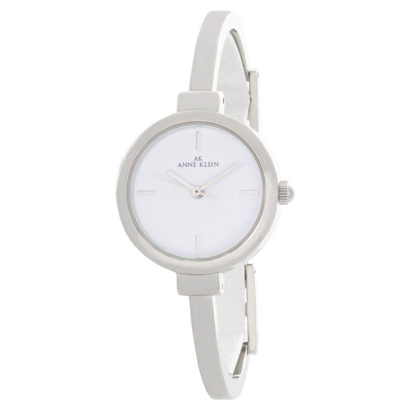 "Image of ""Anne Klein 10/8275 White Dial Metal Bracelet Womens Watch"""