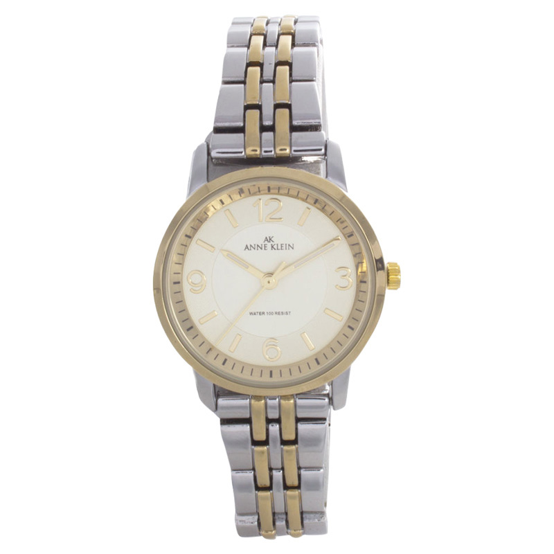 "Image of ""Anne Klein 10/9783Ivtt Quartz Analog Two Tone Metal Womens Watch"""