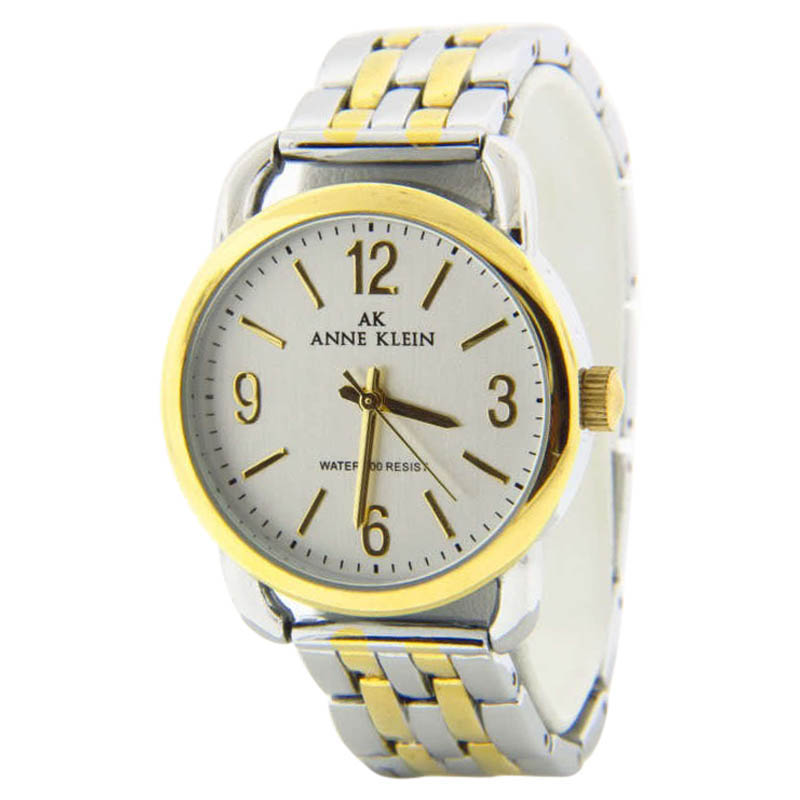"Image of ""Anne Klein 10/9717 Two-Tone Stainless Steel 33mm Watch"""