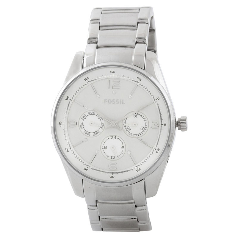 "Image of ""Fossil Bq1070 Stainless Steel Quartz 40mm Womens Watch"""
