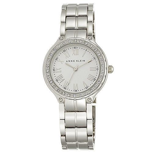 """Image of """"Anne Klein Ak/2095 Silver Dial Metal Bracelet Women's Watch"""""""