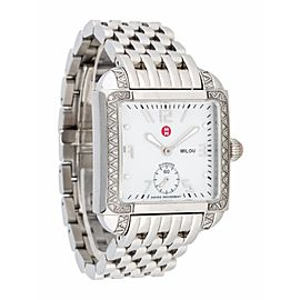 Michele MWW15A000001 Milou Pearl Dial Stainless Steel Bracelet Womens Watch