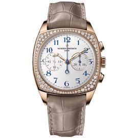 Vacheron Constantin 5005s/000r-b053 Harmony 18K Rose Gold Diamond 37mm x 46.6mm Watch