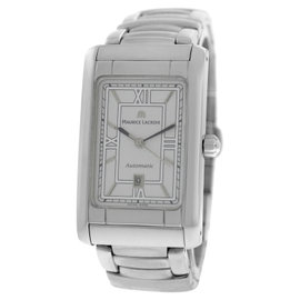 Maurice Lacroix Miros 62748 Stainless Steel 33mm Watch