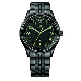 Tommy Hilfiger 1710307 Classic Black Ion Plated Stainless Steel 44mm Watch