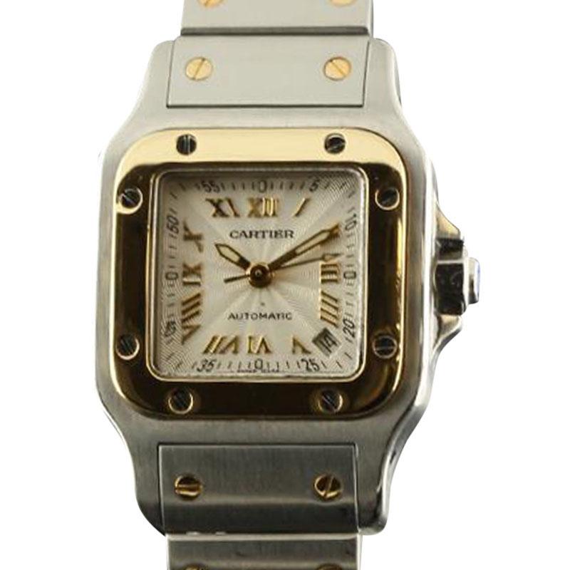 "Image of ""Cartier Santos de Cartier Galbee Stainless Steel & Yellow Gold 25mm"""