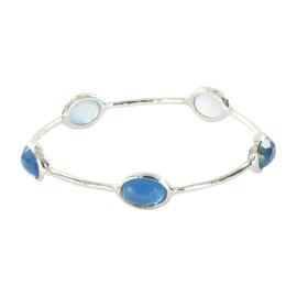 Ippolita Rock Candy 5-Stone Mother of Pearl Malibu Quartz Sterling SIlver Bracelet
