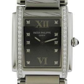 Patek Philippe Twenty-4 4910/10A-010 Stainless Steel Quartz 25mm x 30mm Watch