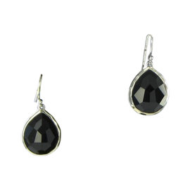 Ippolita Sterling Silver & Black Onyx Teardrop Earrings