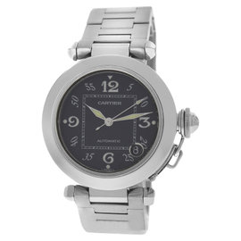 Cartier Pasha 2324 Stainless Steel Date Automatic 35mm Unisex Watch