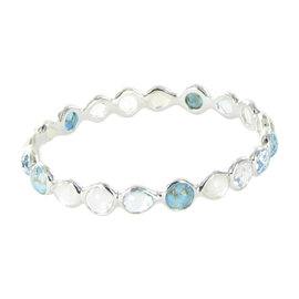 Ippolita Rock Candy Sterling Silver All Around Harmony Multi-Gemstone Bracelet