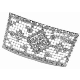 Tiffany & Co. Platinum Diamond Pin Brooch