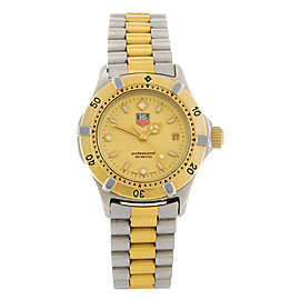 Tag Heuer Professional WE1420-R Two-Tone Stainless Steel Quartz 28mm Womens Watch