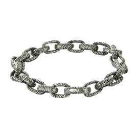 David Yurman 925 Sterling Silver Chain Bracelet