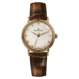 Blancpain Villeret 6102-3642-55 18K Rose Gold 29mm Womens Watch