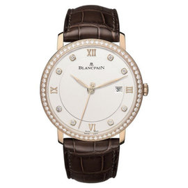 Blancpain Villeret Ultra Slim 18K Rose Gold 40mm Watch