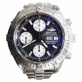 Breitling Superocean A13340 Day/Date Stainless Steel Black Dial Chronograph Automatic 42mm Men's Watch