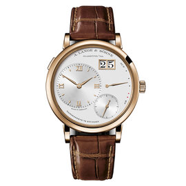 A. Lange & Sohne Grand Lange 1 117.032 18K Rose Gold 40.9mm Mens Watch