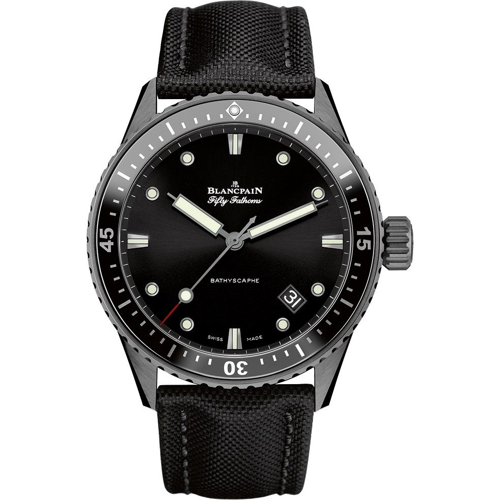 "Image of ""Blancpain Fifty Fathoms Bathyscaphe 5000-0130-b52a Ceramic Automatic"""