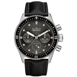 Blancpain Fifty Fathoms Bathyscaphe Flyback 5200-1110-b52a Stainless Steel 43mm Mens Watch