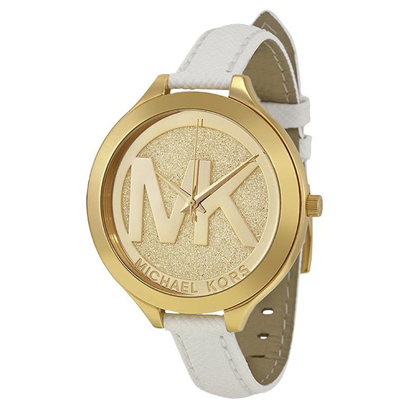 """Image of """"Michael Kors Mk2389 Gold Tone Stainless Steel 42mm Womens Watch"""""""