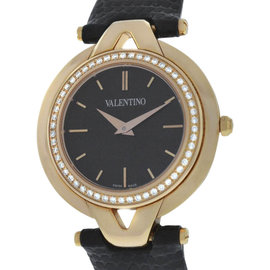 Valentino V38SBQ5109S009 Rose Gold-Tone Stainless Steel Quartz Diamond Bezel 34mm Watch