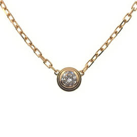 Cartier Diamants Légers de Cartier 18k Rose Gold Diamond Necklace