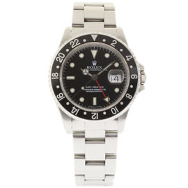 Rolex GMT Master 16700 Stainless Steel Black Dial Automatic 40mm Mens Watch 1997