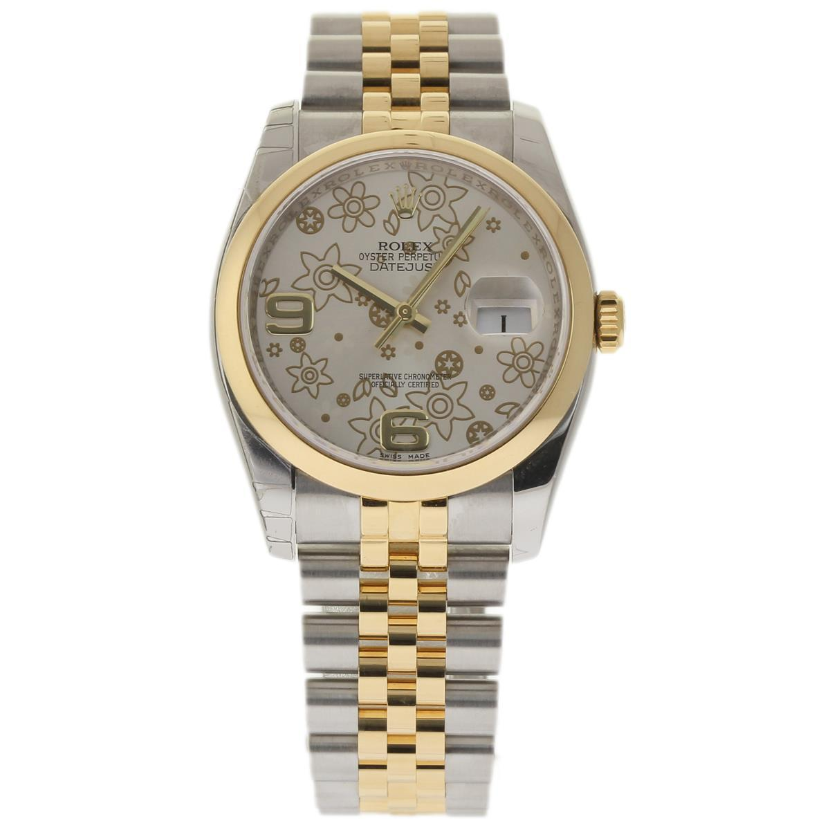 "Image of ""Rolex Datejust 116203 Stainless Steel & 18K Yellow Gold 36mm Mens"""