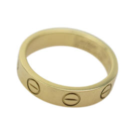 Cartier 18K Yellow Gold Mini Love Ring Size 3.25