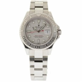 Rolex Yacht-Master 16622 Stainless Steel Platinum Dial Automatic 40mm Mens Watch 1999