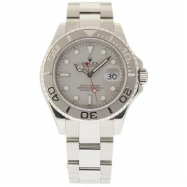 Rolex Yacht-Master 16622 Stainless Steel/Platinum Grey Dial Automatic 40mm Mens Watch 2006