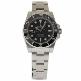 Rolex Submariner 114060 Stainless Steel Black Dial Automatic 40mm Mens Watch