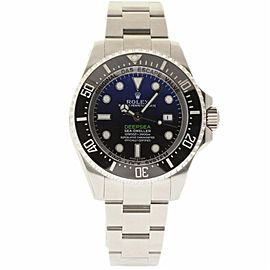 Rolex Sea-Dweller 116660 Stainless Steel Blue Dial Automatic 44mm Mens Watch 2017