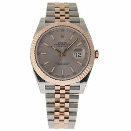 Rolex Datejust 126331 Stainless Steel Sundust Dial Automatic 41mm Mens Watch