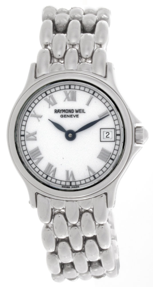 """Image of """"Raymond Weil 5377 Stainless Steel with White Dial 23mm Womens Watch"""""""