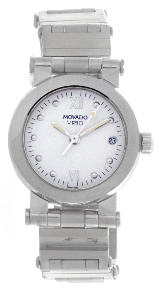 """Image of """"Movado Stainless Steel 24mm Womens Watch"""""""
