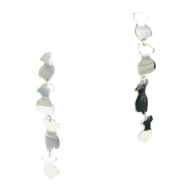 """Image of """"Tous 925 Sterling Silver Earrings"""""""