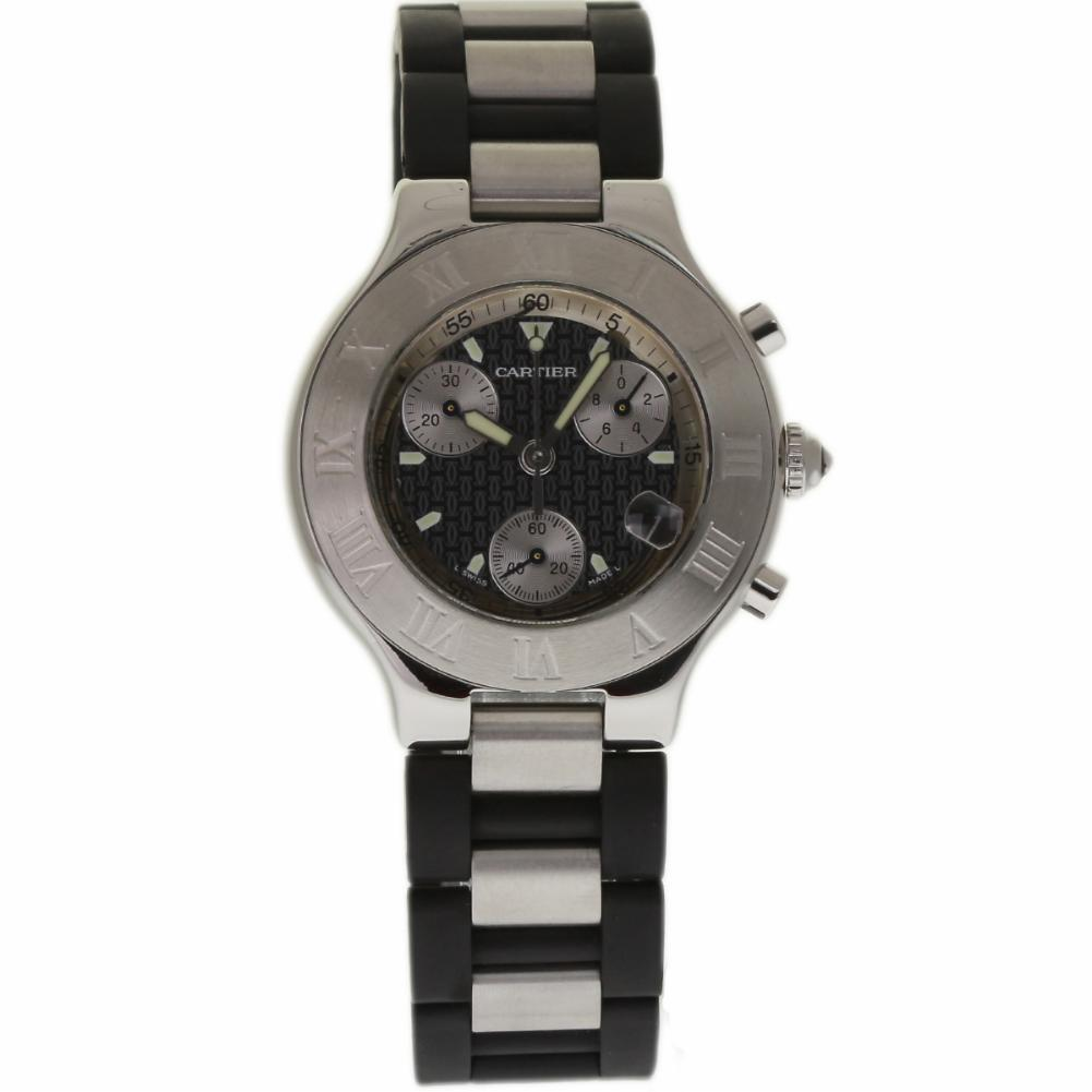 """Image of """"Cartier Must 21 W10125U2 Stainless Steel 38mm Mens Watch"""""""