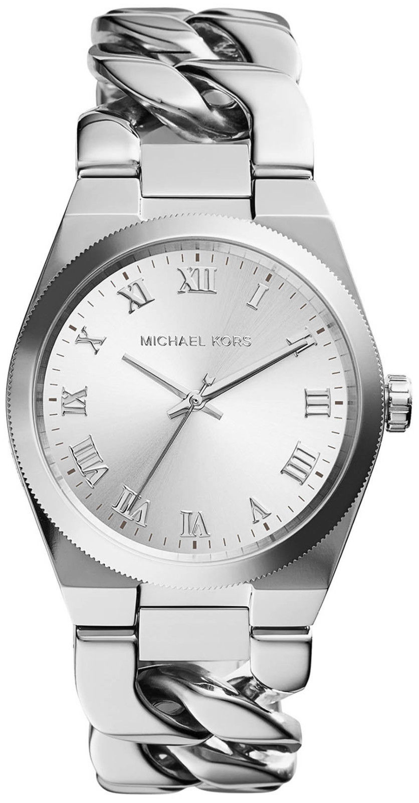 """Image of """"Michael Kors Channing Mk3392 Stainless Stee with Silver Dial 38mm"""""""
