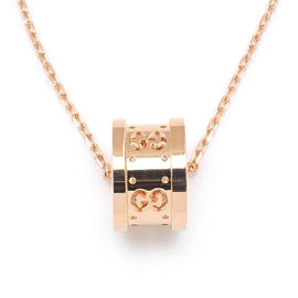 Gucci 18K Rose Gold Icon Twirl Necklace