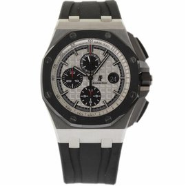Audemars Piguet Royal Oak Offshore 26400SO.OO.A002CA.01 Stainless Steel/Ceramic Automatic 44mm Mens Watch