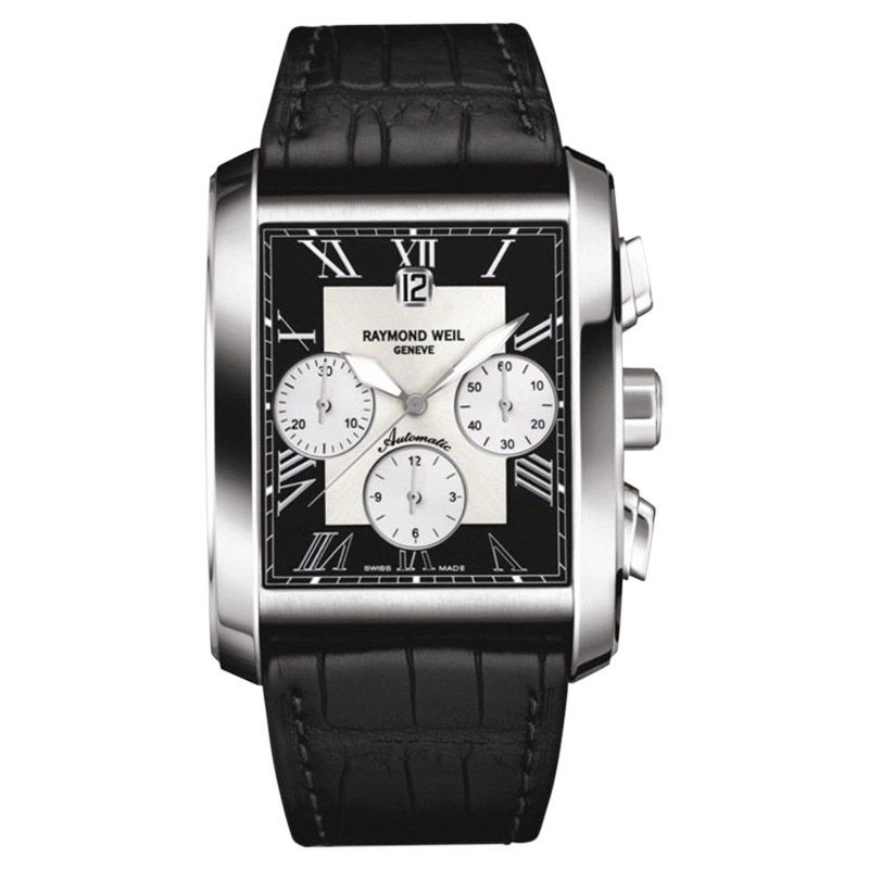 "Image of ""Raymond Weil 4878-Stc-00268 Stainless Steel 34mm Mens Watch"""