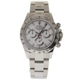 Rolex Daytona 116520 Stainless Steel White Dial Automatic 40mm Mens Watch 2016