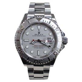Rolex Yacht Master 16622 Stainless Steel & Platinum Bezel 40mm Mens Watch