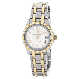 Concord Saratoga 1021883 Two-Tone Stainless Steel 25mm Womens Watch