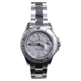 Rolex Yacht-Master 169622 Stainless Steel & Platinum 29mm Womens Watch