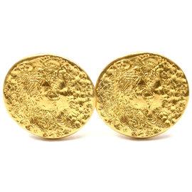 Piaget Salvador Dali D' 18K & 22K Yellow Gold Cufflinks