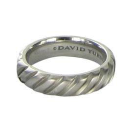 David Yurman Cable Titanium Ring Size 10.5