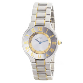 Cartier Must de 1330 18K Yellow Gold and Stainless Steel 31mm Unisex Watch